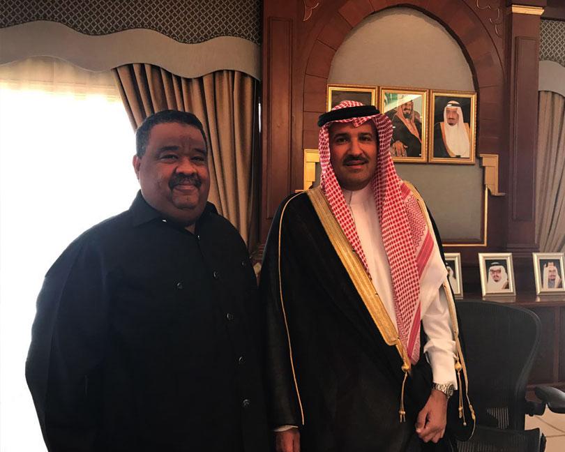 Dr. Elmutaz & His Royal Highness Faisal bin Salman