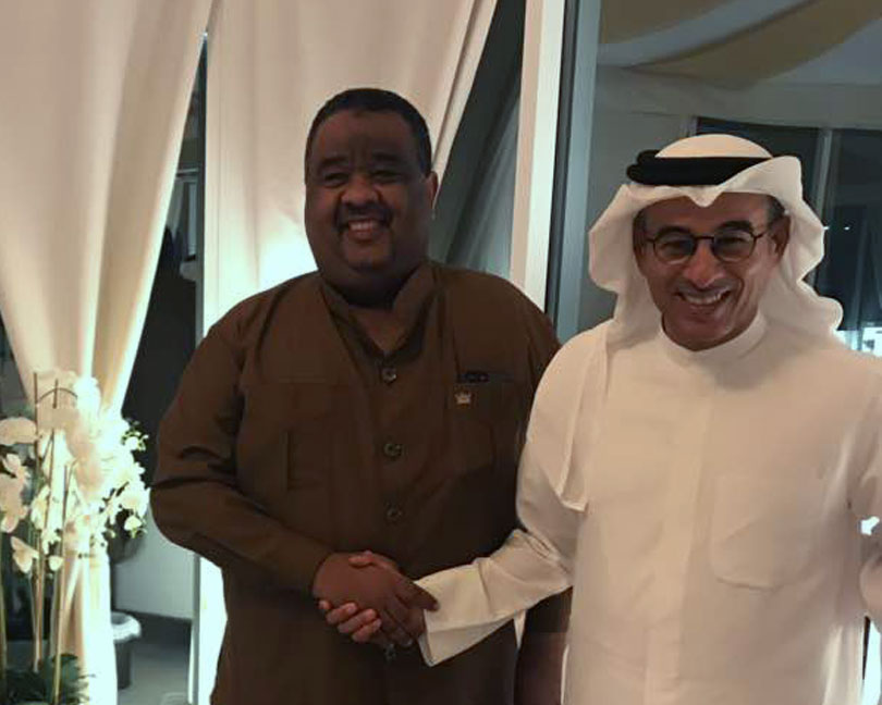 Dr. Elmutaz & Mr. Mohamed Alabbar