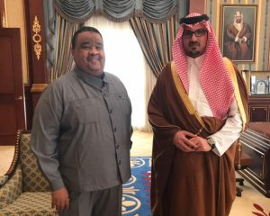 Dr. Elmutaz & Prince Khalid Al-Faisal Al-Saud